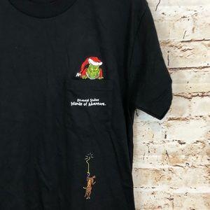 Universal studios Grinch Max CHristmas shirt top